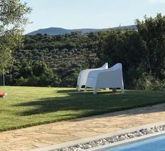 Villa Kamaria Luxusvilla mit privatem Pool, Terrassen, Tal- und Meerblick 1