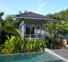 Private 3-Zimmer-Villa mit 1 Schlafzimmer, 15 m Pool und Garten in Krabi, Thailand 1