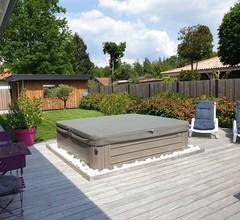 Haus mit Spas, Garten, Terrasse, 3 Schlafzimmer für 6 Personen 2