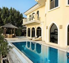 DUBAI BEACH VILLA - XANADUBAI - 5 bedrooms (10 beds),privatepool,car+driver+maid 2