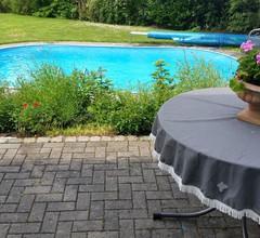 idyllische Ferienwohnung mit Pool und Sauna bei Leipzig 2