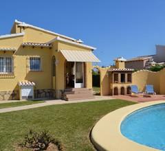 Villa Nido mit 2 Schlafzimmern und Pool in Els Poblets 1
