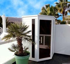 Hochwertig ausgestatteter Bungalow mit 2 Schlafzimmern und 2 Bädern und Infrarot 2