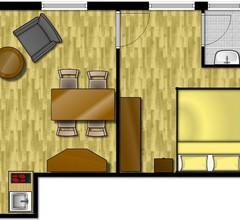 Doppelzimmer für 3 Personen (30 Quadratmeter) in Langeoog 2