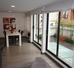 Tolle Lage in Bogotá preiswerte Wohnung mit Terrasse 2