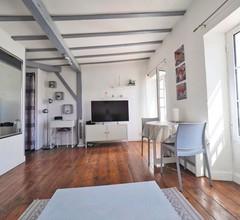 Charmantes Studio in Les Halles, Zentrum von Biarritz, 100 m großer Strand + WiFi 1