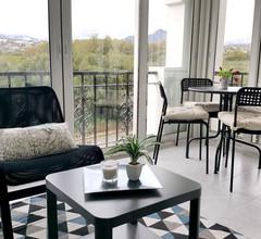 Wohnung mit einem Schlafzimmer in El Paraíso mit toller Aussicht auf die Berge, Pool, möblierter Terrasse 1