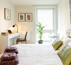 Stilvolles privates Penthouse-Zimmer in West-London mit Bad 1