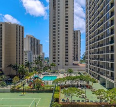 30th Floor with Beautiful Ocean and Diamond Head Views  1 Block to Beach  Free Parking & WIFI 2