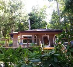 Niedliches Ferienhaus und Whirlpool in Waldlage, nur wenige Schritte von einer schönen kleinen Bucht entfernt 2