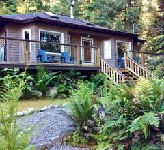Niedliches Ferienhaus und Whirlpool in Waldlage, nur wenige Schritte von einer schönen kleinen Bucht entfernt 1