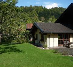 Am Schlierbach (DE Oberwössen). Ferienwohnung 1-2 Personen, 48 qm, Wohnschlafraum, Küche, Du/WC, Sat-TV, Terrasse, WLAN 1