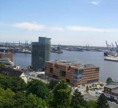 Ferienwohnung Hamburg Hafenblick 1