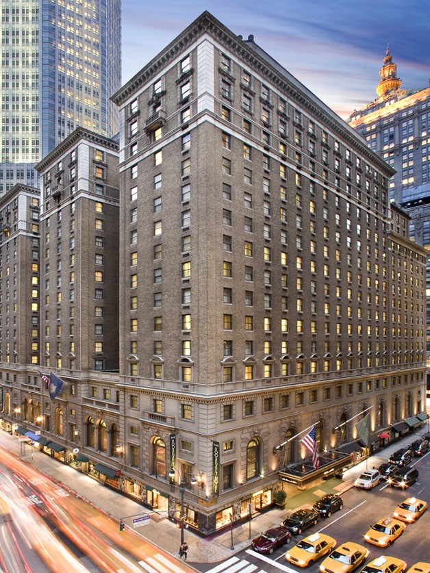 The Roosevelt Hotel- New York City