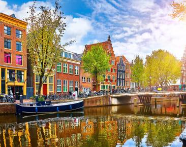 Amsterdam – Tulpen, Grachten und Panoramen ohne Ende