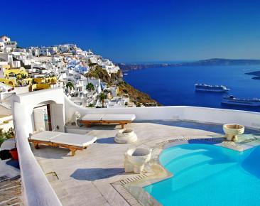 Santorini – weiß-blaue Insel wie aus dem Bilderbuch